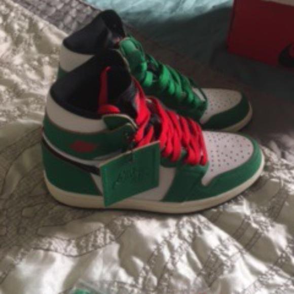 Air Jordan 1 Retro High OG PS 'Lucky Green'